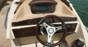 Helm with Touch Screen Control