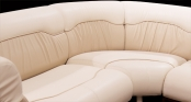 Wraparound lounge seating