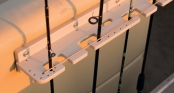 Vertical rod storage (standard on FS & FC)